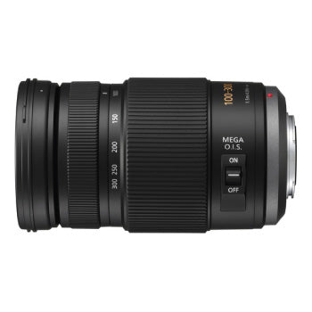 Panasonic Lumix G Vario 100-300mm f-4-5.6 OIS Zoom Lens (Black)