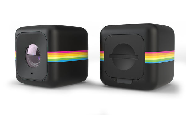Polaroid Cube + Lifestyle Action Camera with WiFi and Free 32GB SD Card - Black