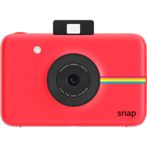 Polaroid Snap Instant Camera with ZINK Zero Ink Technology (Red)