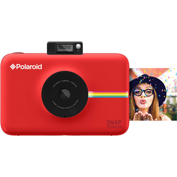 Polaroid Snap Touch Instant Digital Camera - Red