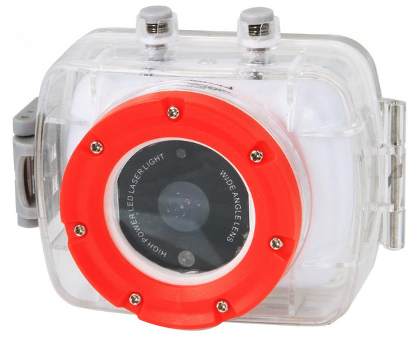 Polaroid XS9 HD 720p Waterproof Sports Action Camera with Mounting Kit