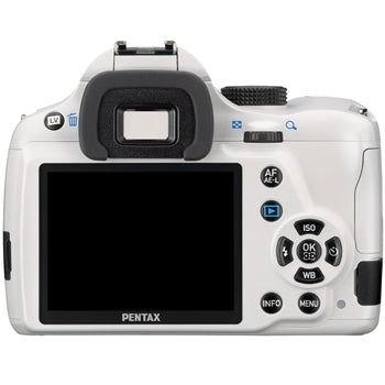 Pentax K-50 DSLR Body Only (White)