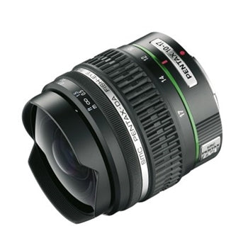 Pentax 10-17mm smc DA Fisheye F3.5-4.5 ED IF Lens