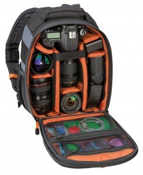 Ritz Gear Photo Backpack - Fits DSLR Plus 3-4 Lenses and Accessories