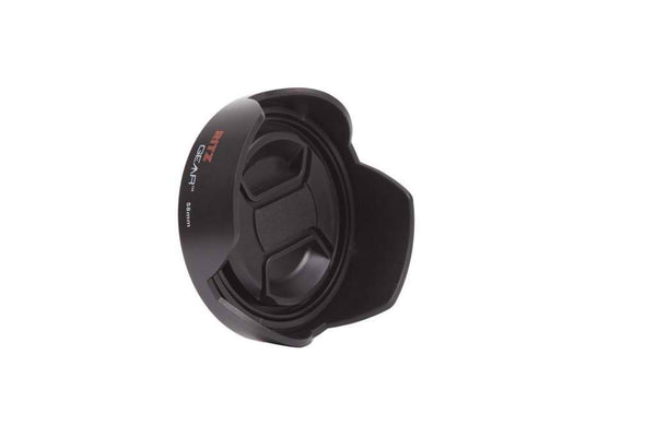 Ritz Gear 58mm Lens Hood Kit  with Snap-On Ring, Lens Cap and Keeper