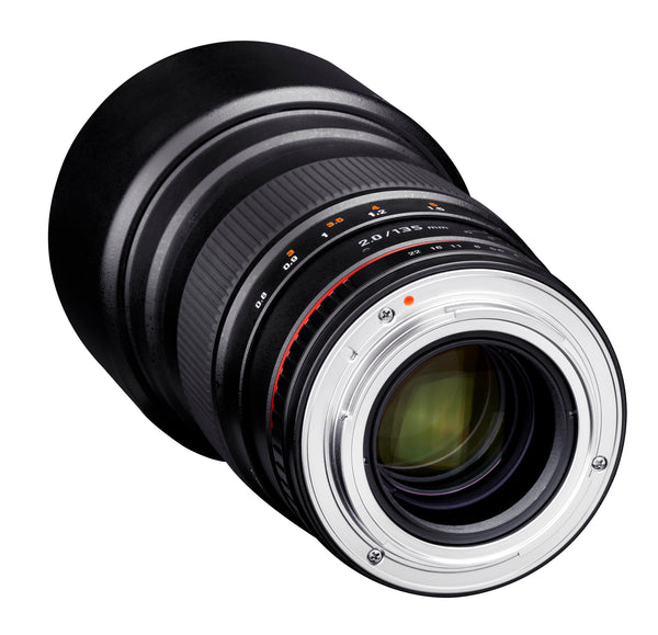 Rokinon 135mm F2.0 Telephoto Lens for Canon