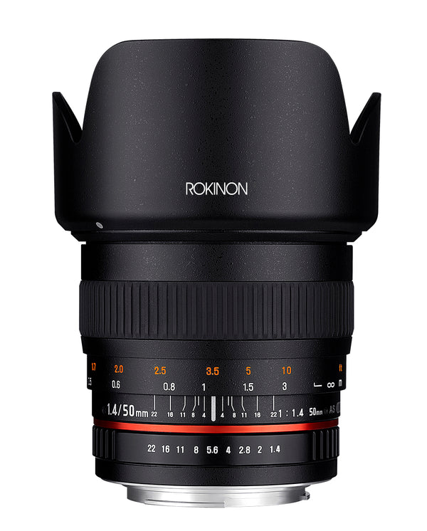 Rokinon 50mm F1.4 Lens for Sony A