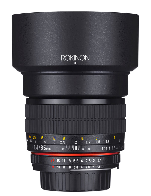 Rokinon 85mm F1.4 Aspherical Lens for Canon EF Mount