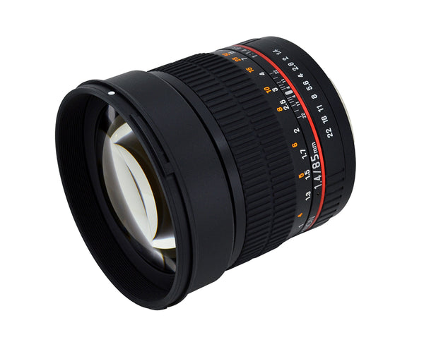Rokinon 85mm F1.4 Aspherical Lens for Samsung NX Mount
