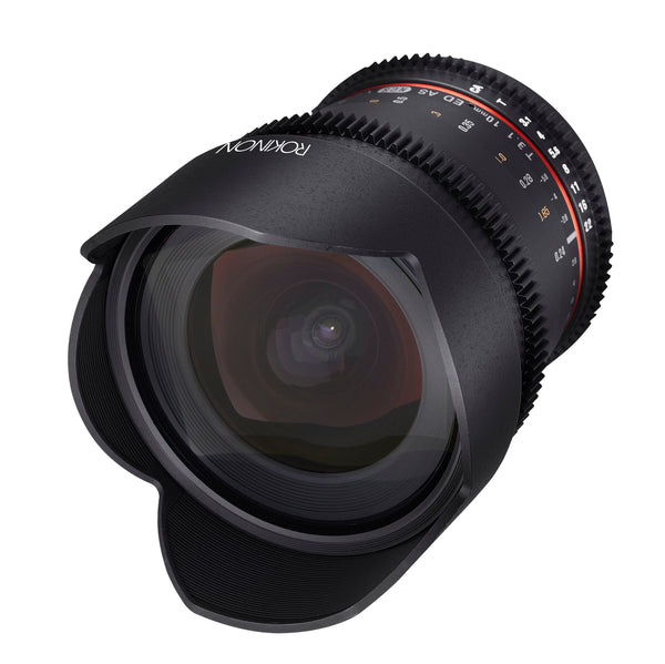 Rokinon 10mm T3.1 Cine Super Wide Angle Lens for Micro Four Thirds
