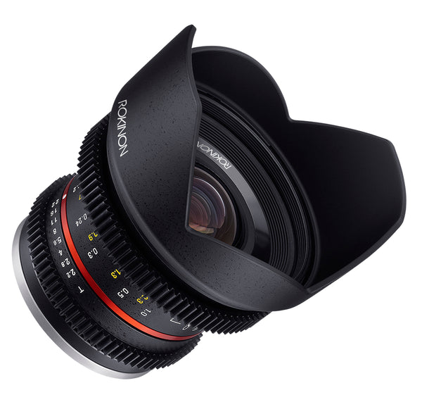 Rokinon 12mm T2.2 Cine Super Wide Angle Lens for Fuji X-Mount