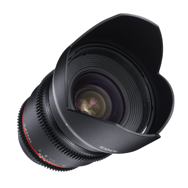 Rokinon 16mm T2.2 Cine Wide Angle Lens for Nikon F Mount