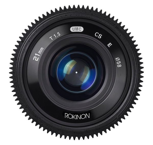 Rokinon 21mm T1.5 High Speed Cine Lens for Micro Four Thirds Mount