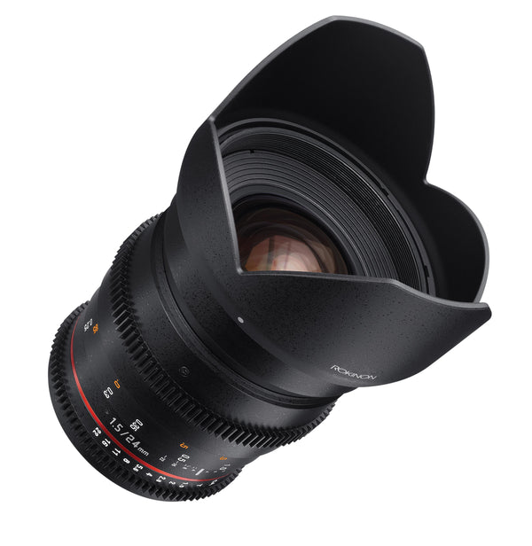 Rokinon 24mm T1.5 Cine Wide Angle Lens for Sony E-Mount