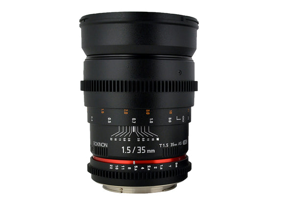 Rokinon 35mm T1.5 Cine Wide Angle Lens for Canon EF Mount