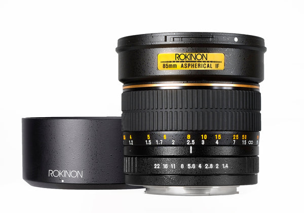 Rokinon 85mm T1.5 Cine Aspherical Lens for Micro Four Thirds Mount