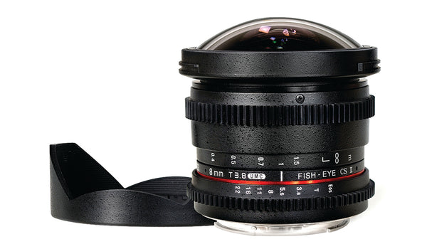 Rokinon 8mm T3.1 Cine Fisheye Lens for Canon M Mount