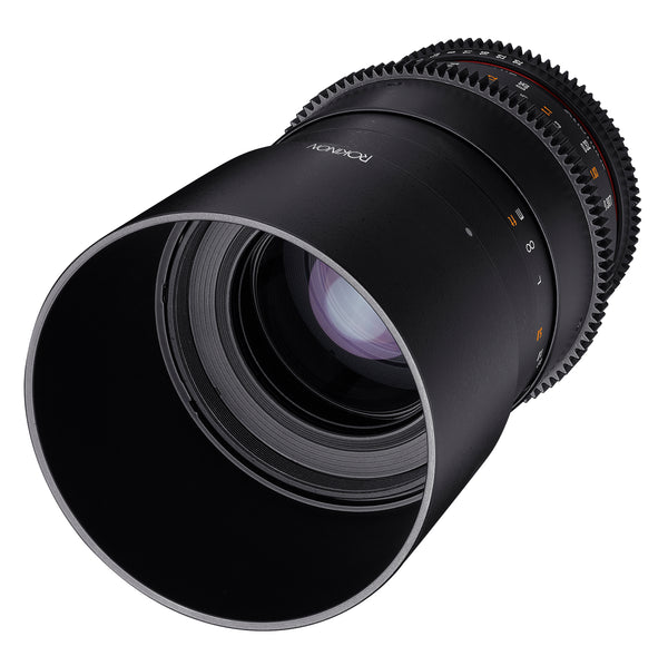 Rokinon Cine DS 100mm T3.1 Telephoto Macro Cine Lens for Sony E Mount