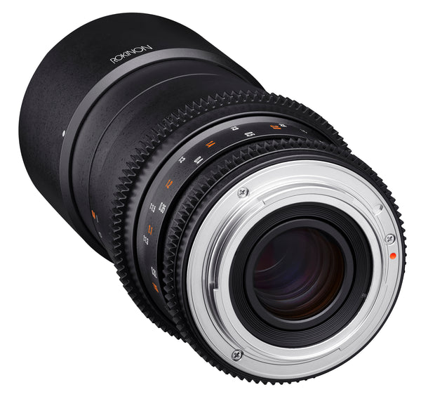 Rokinon Cine DS 100mm T3.1 Telephoto Macro Cine Lens for Nikon