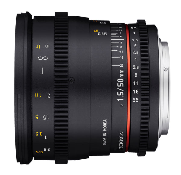 Rokinon DS 50mm T1.5 Cine Lens for Sony E