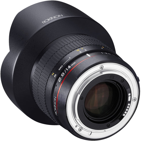 Rokinon 14mm F2.8 IF ED for Nikon AE with Automatic Chip