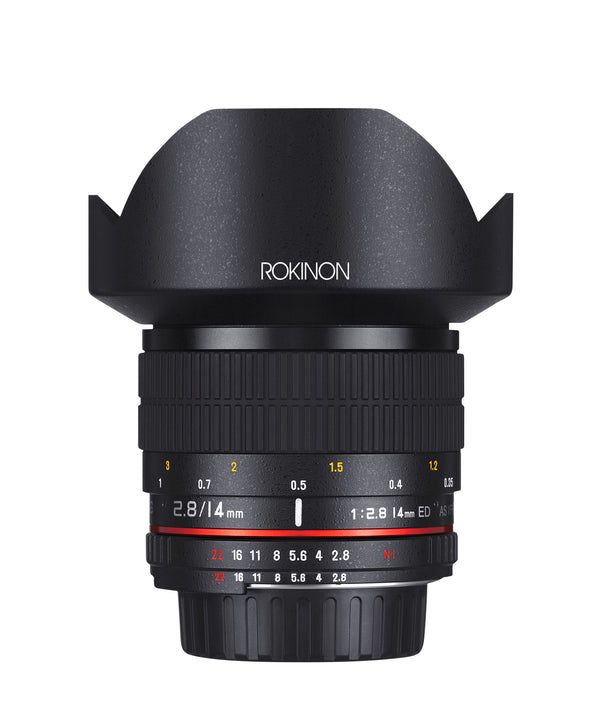 Rokinon 14mm F2.8 IF ED Super Wide Angle Lens for Fuji X Mount