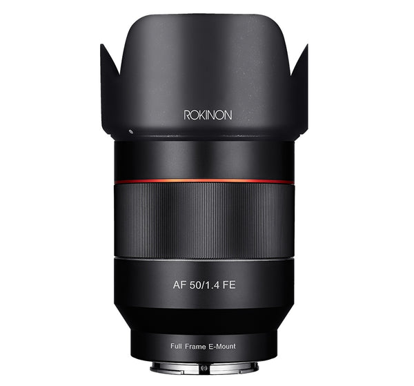 Rokinon 50mm f-1.4 AF Full Frame Lens for Sony E Mount