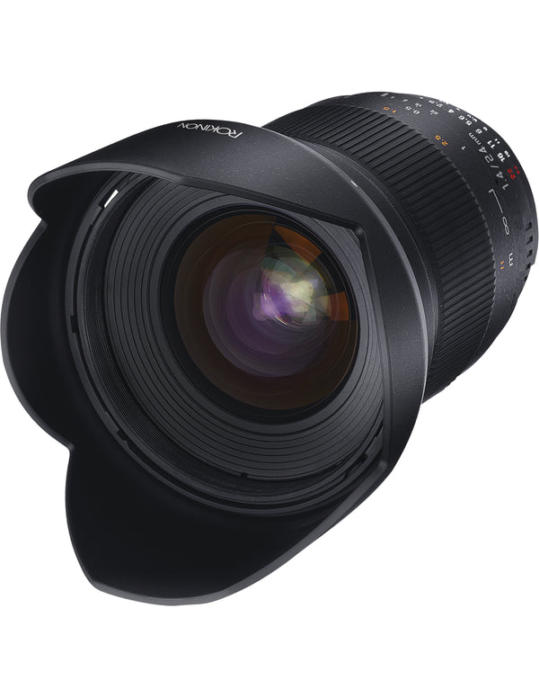 Rokinon 24mm f-1.4 ED AS UMC Wide-Angle Lens for Nikon AE