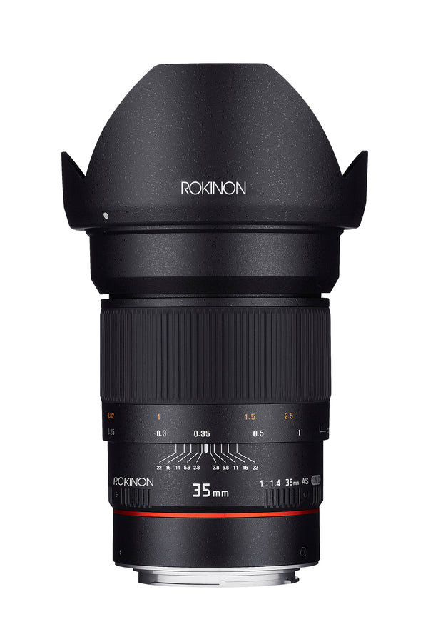 Rokinon 35mm F1.4 UMC Wide Angle Lens for Sony Alpha Mount