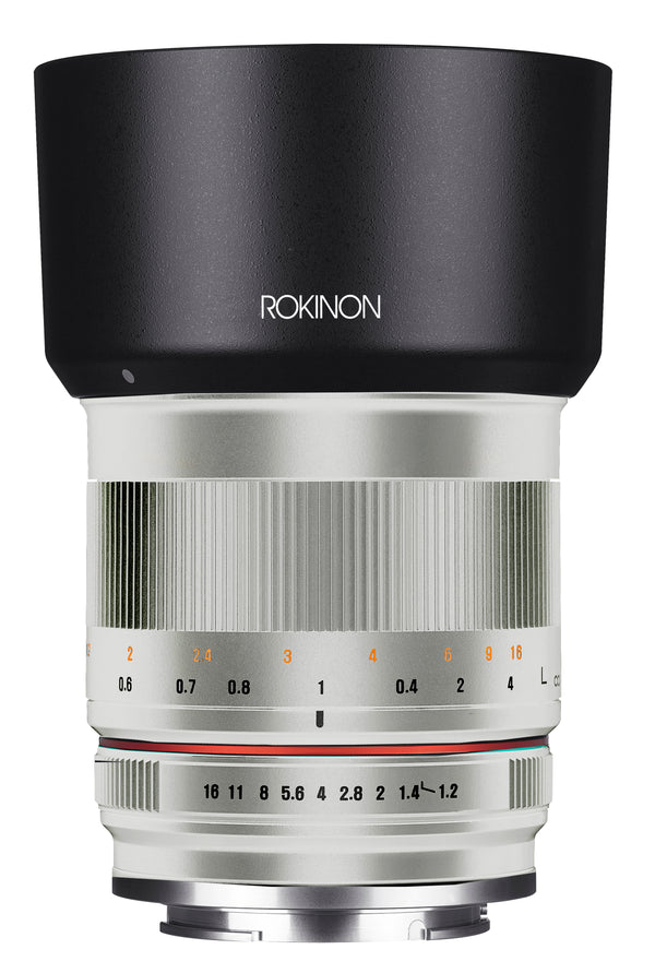 Rokinon 50mm F1.2 High Speed Lens for Sony E Mount (Silver)