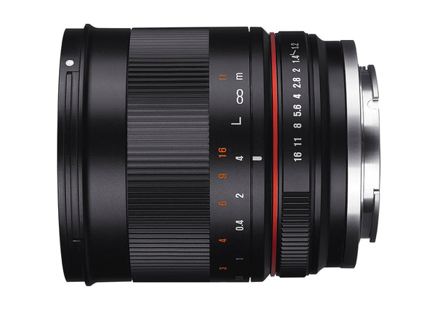 Rokinon 50mm F1.2 High Speed Lens for Canon M