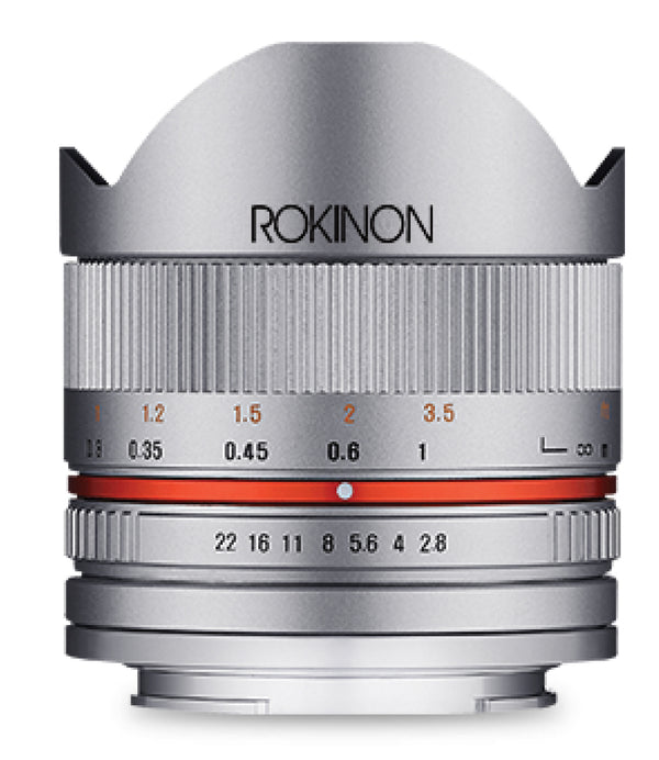 Rokinon Series II 8mm f-2.8 UMC Fisheye Lens for Samsung NX (Silver)