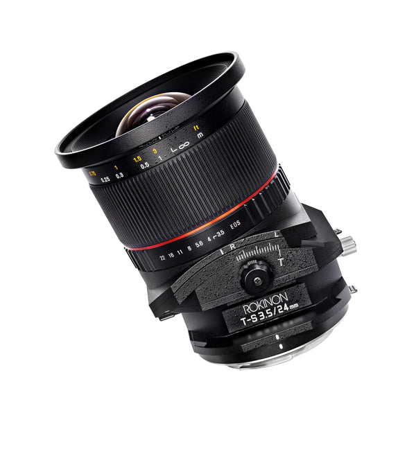 Rokinon 24mm F3.5 Tilt Shift Lens for Olympus Four Thirds Mount