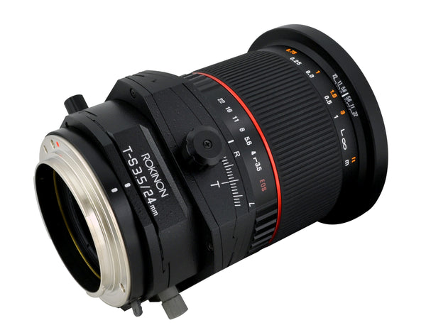 Rokinon 24mm F3.5 Tilt Shift Lens for Sony Alpha Mount