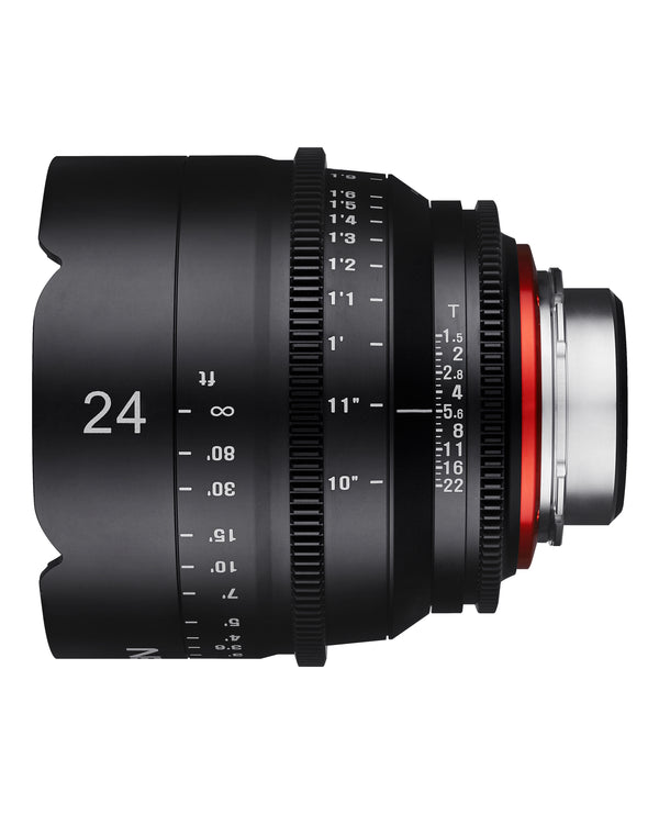 XEEN by ROKINON 24mm T1.5 Professional Cine Lens for Nikon F Mount