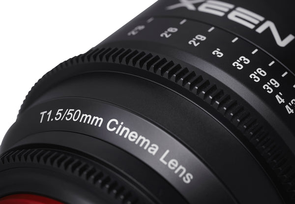 XEEN by ROKINON 50mm T1.5 Professional Cine Lens for Canon EF Mount