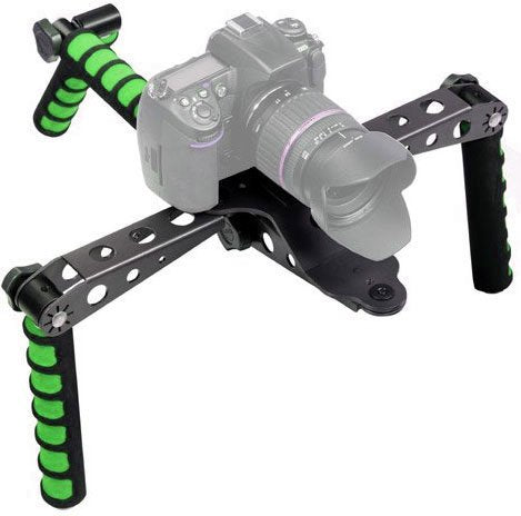 Ivation Pro Steady DSLR Rig and Video Stablization System (Green)