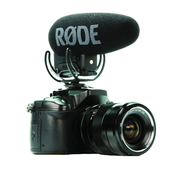 Rode VideoMic Pro+ Compact Directional On-camera Microphone