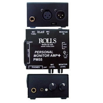 Rolls PM55 Personal Microphone Monitor Mixer