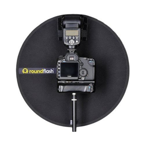 RoundFlash Collapsible Magnetic Flash Macro-Portrait Diffuser (45cm)