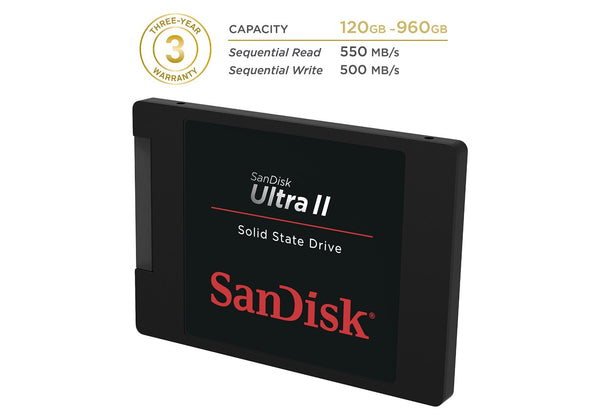 SanDisk 240GB Ultra II Internal Solid State Drive (SSD)