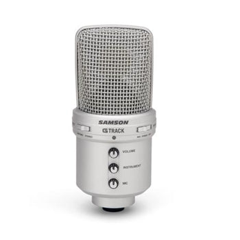 Samson GM1U G-Track USB Condenser Microphone and Audio Interface for Recording