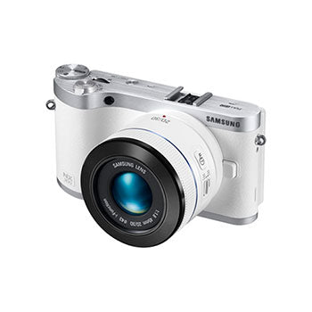 Samsung NX300 ILC System Camera with 45mm f-1.8 [T6] 2D-3D Prime Lens