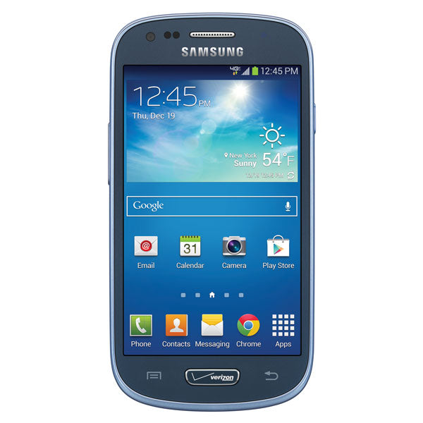 Samsung Galaxy SIII mini Value Edition Unlocked GSM Android Smartphone (Blue)