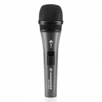 Sennheiser E835S Dynamic Cardioid Handheld Vocal Microphone with On-Off Switch