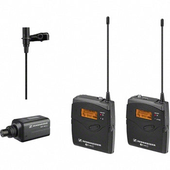Sennheiser EW100ENGG3-G Portable Wireless Microphone Combo System (G - 566