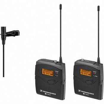 Sennheiser EW112G3 Wireless Lavalier Microphone System with ME2 Microphone