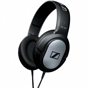 Sennheiser HD201 Closed Back Dynamic Stereo Headphones