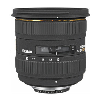 Sigma 10-20mm f-4-5.6 EX DC HSM Zoom Lens for Nikon