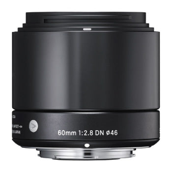 Sigma 60mm f-2.8 DN Prime Lens for Micro 4-3 (Black)